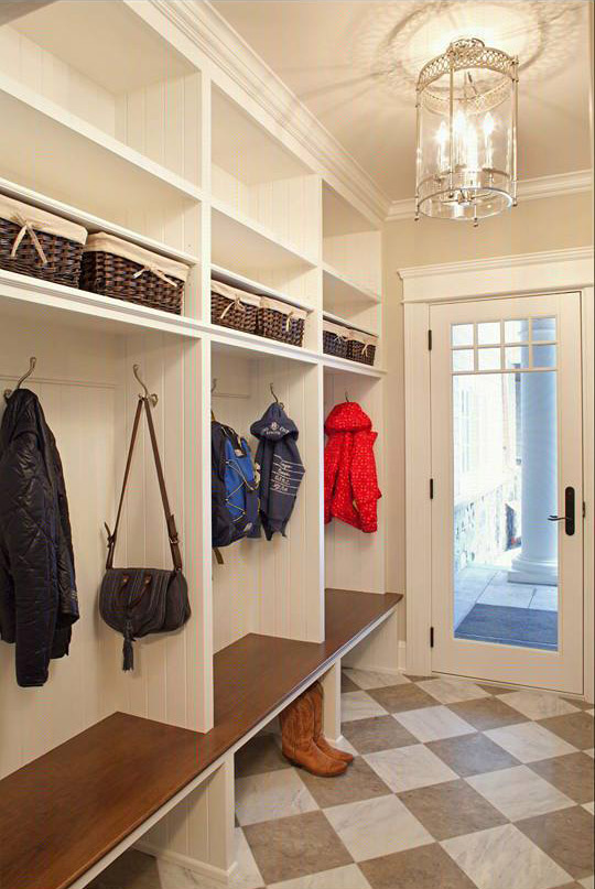 Built in Bespoke Boot Room Storage Units